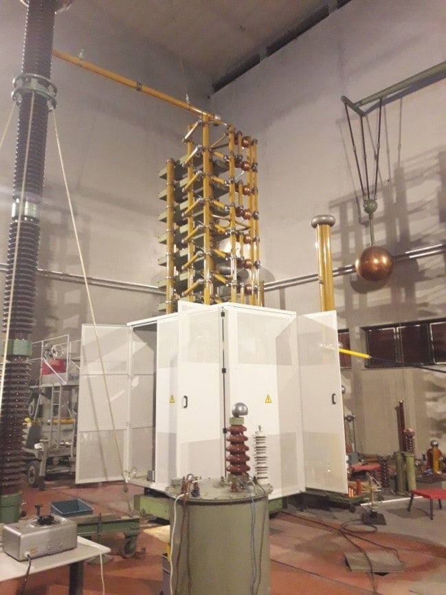 Replacement of transformer with ESF in TENT A