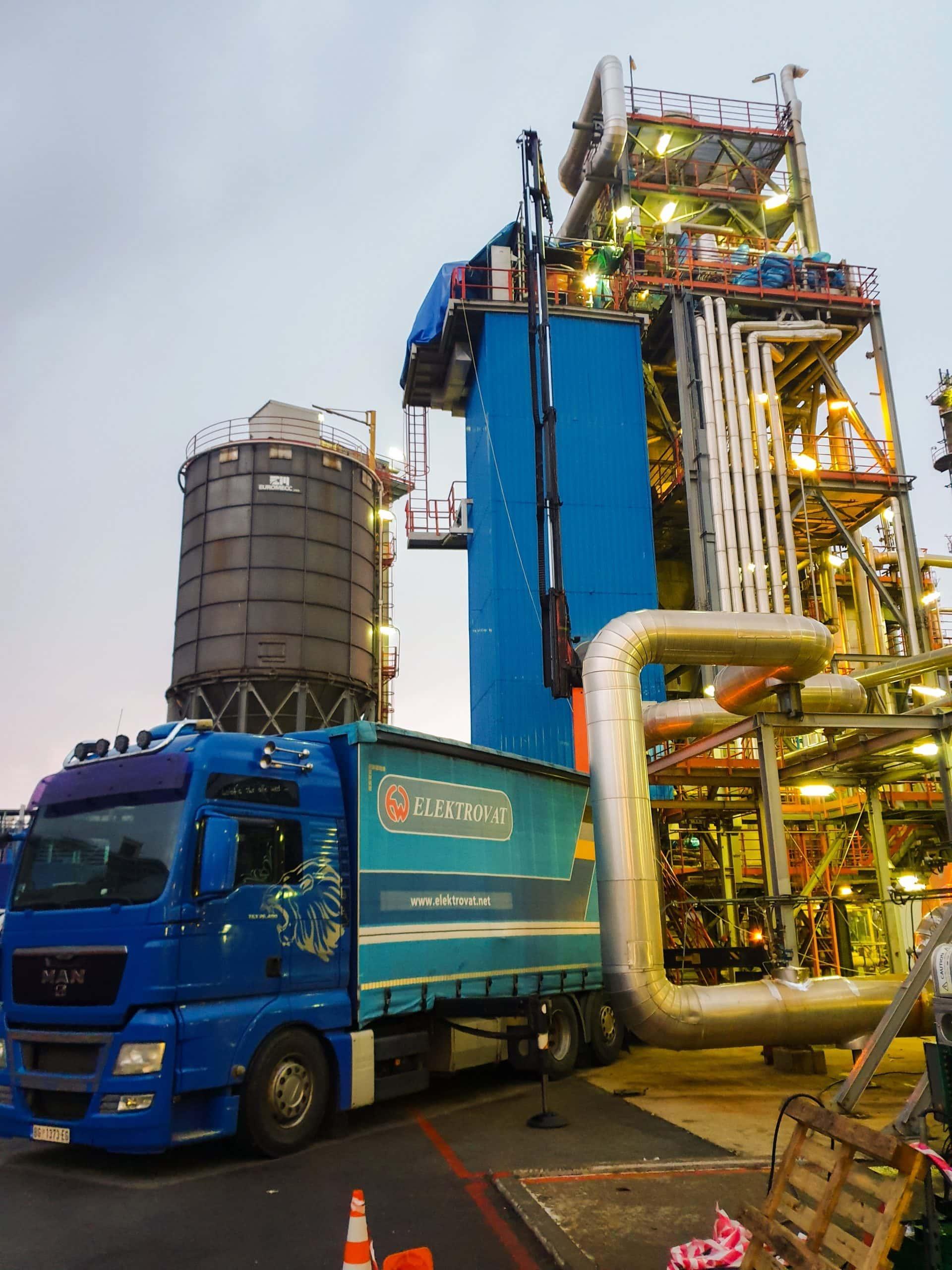 Elektrovat izvršio radove na rekonstrukciji elektrostatičkog filtera u Rafineriji nafte u Pančevu